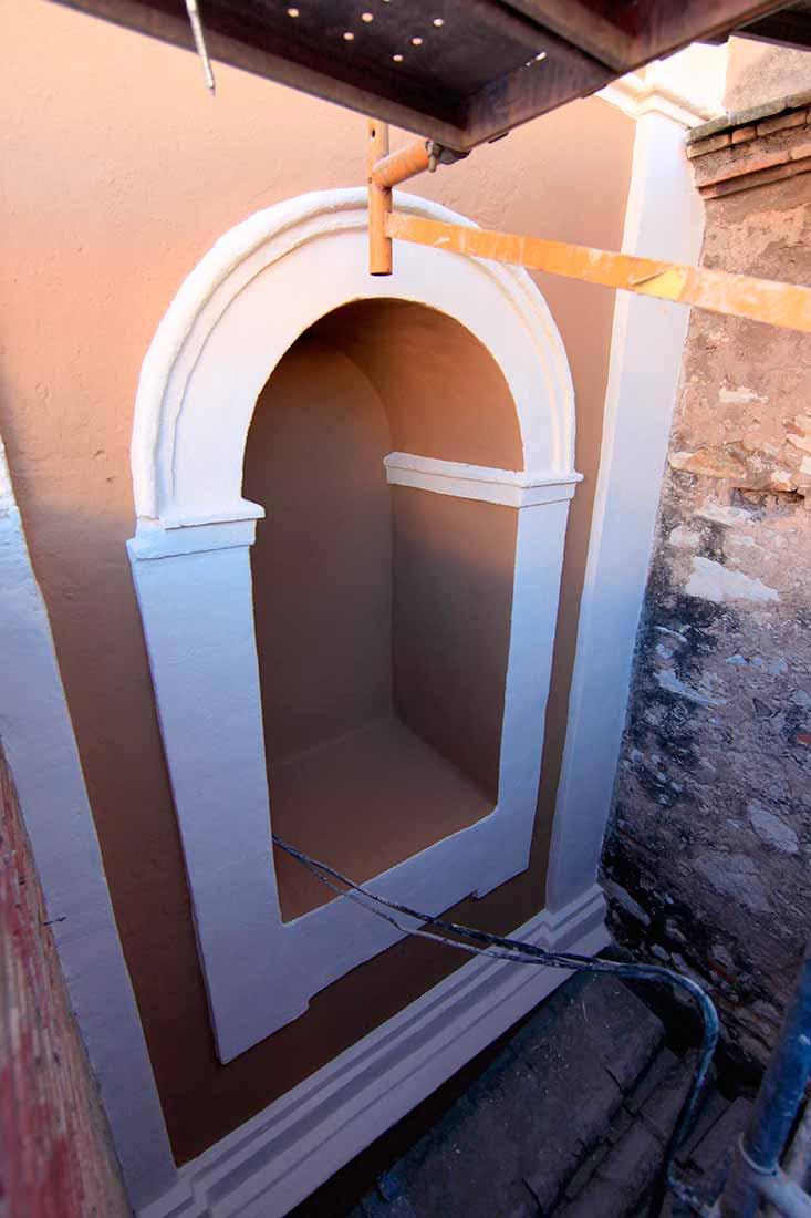 Restauración terminada del campanario
