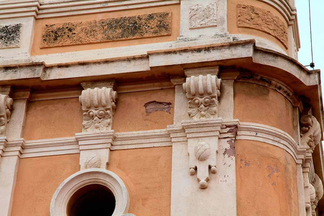 Estado del revestimiento previo a la restauración
