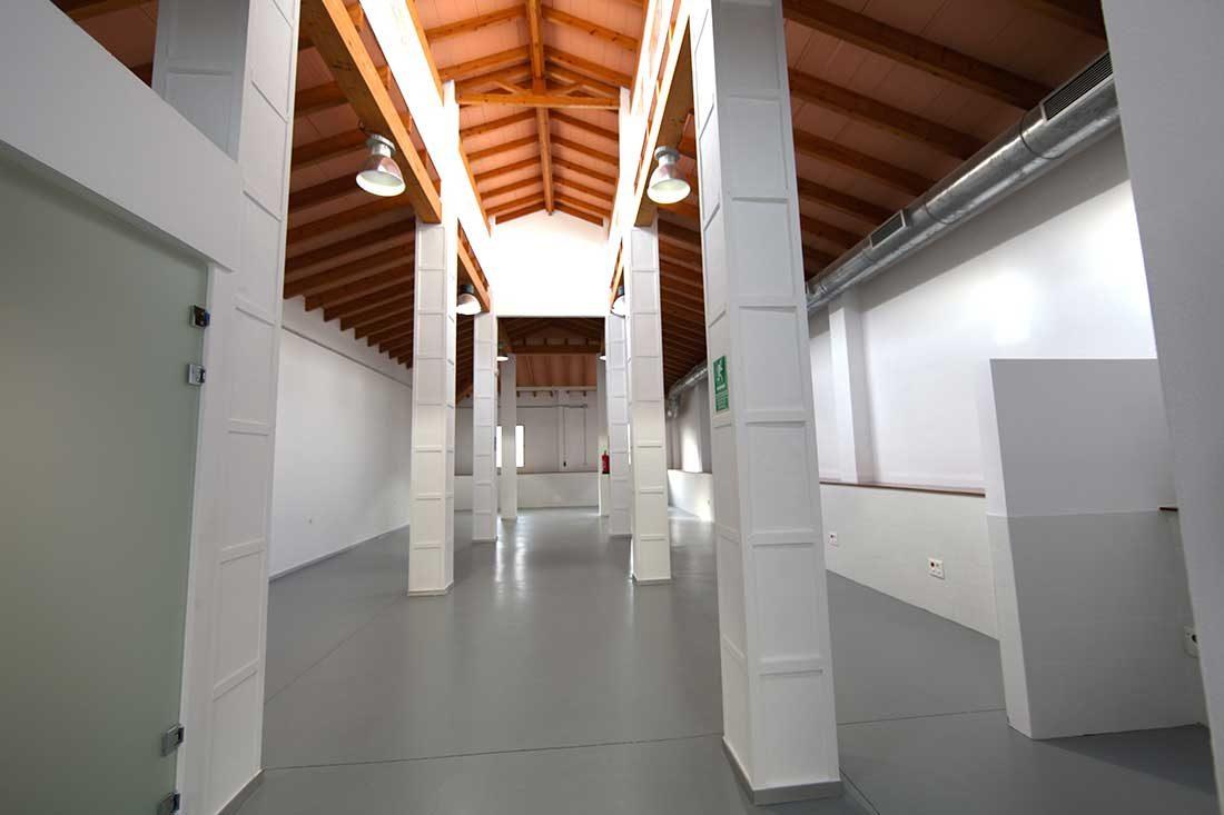 Vista espacio interior rehabilitado