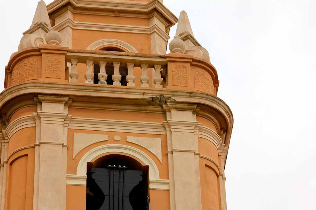 Falta de sección en elementos arquitectónicos