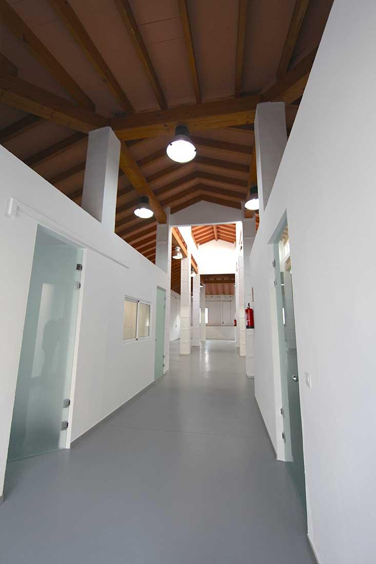 Vista interior Agencia de Lectura Yátova