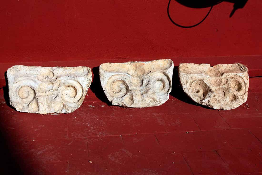 Moldes para la reconstrucción de elementos ornamentales