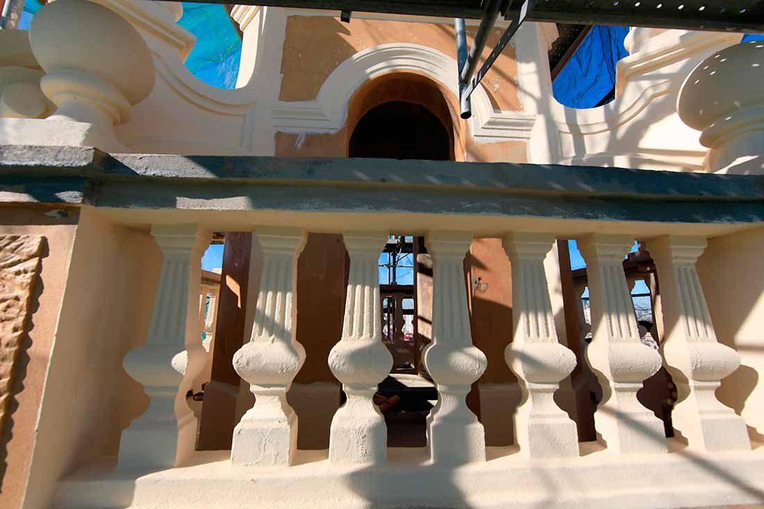 Restauración integral de elementos arquitectónicos
