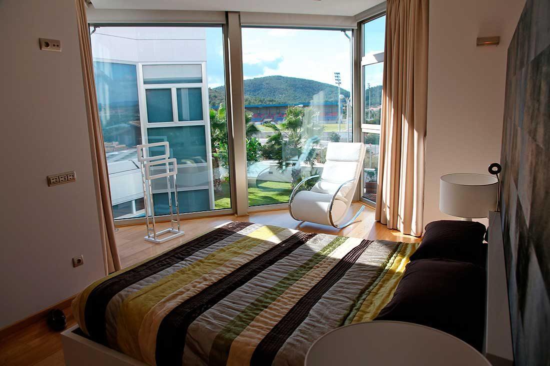 Vistas de la vivienda desde la habitación principal